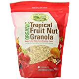 New World Foods Organic Tropical Fruit Nut Granola, 908gm