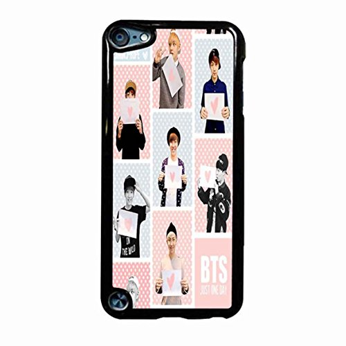 Bts I Need U Logo Blue 4 Case / Color White Plastic / Device iPod Touch 6