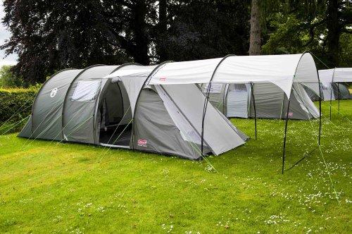 Coleman Coastline Deluxe Tent Green Grey Six Person