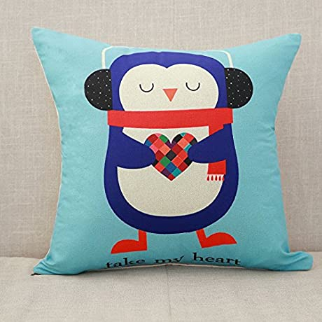 FlameIce Home Sofa Pillow Cushion Red Jacquard Cushion Pillow Cross Embroidery Design Soft Suit Cushion Sofa Bedside Pillow