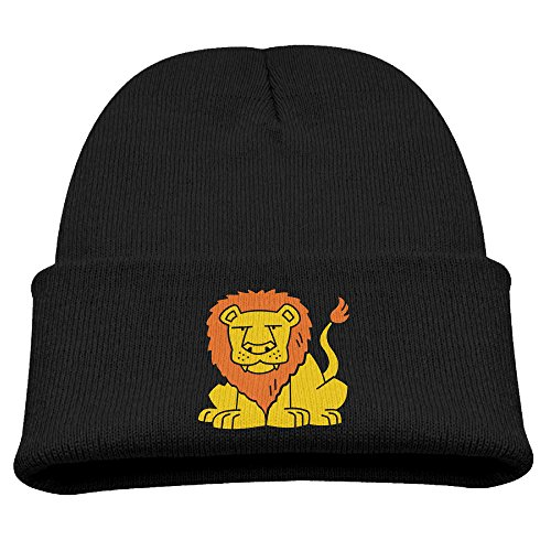Moshiwenq Lion 3c Top Level Unisex Beanie Hat For Cute Baby Boy/Girl Soft Toddler Infant Cap