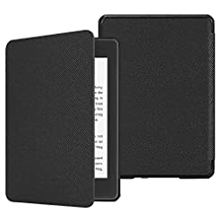 FINTIE Slimshell Case for Kindle Paperwhite (10th Generation, 2018 Release) – Lightweight Protective Cover with Auto…
