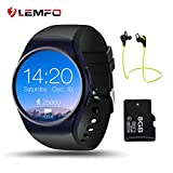 LEMFO LF18 Smart Watch Passometer SmartWatch SIM TF Card Heart Rate Monitor Smart Watches For IOS Android Phone Reloj Inteligente