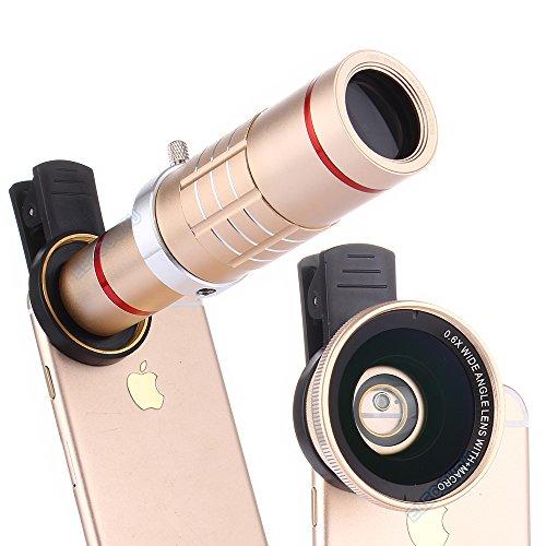 Elecguru Universal Telephoto Samsung Smartphones