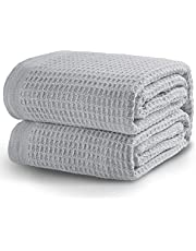 Bedsure Cotton Thermal Blanket Super Soft