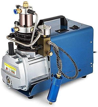 300BAR 30MPA 4500PSI Haute Compresseur Portable /Électrique /À Pompe /À Air Pcp Bouteille Gonflable Gonfleur Electrique de Pneu TOPQSC Compresseur d/'Air Voiture