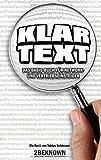 Klartext: Das Basis-Buch für Network- und Vertriebseinsteiger