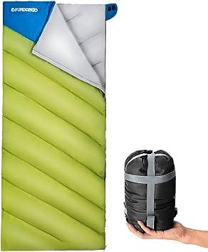 Amazon.com: FUNDANGO - Saco de dormir ligero para adultos ...