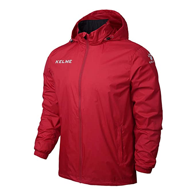 XINYANG Jacket Chaqueta Impermeable, Hombre, Nailon,Red,XL ...