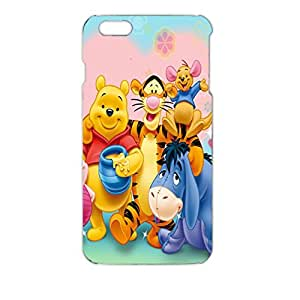 Iphone 6 Plus ( 5.5 Inch ) Case Winne The Pooh 3D Creative Fashionable Specialized Phone Cover