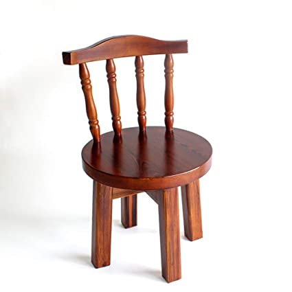 Prime Amazon Com Solid Wood Small Chair Stool Chair Home Small Gmtry Best Dining Table And Chair Ideas Images Gmtryco