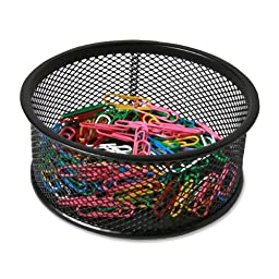 Sparco Steel Mesh Paperclip Holder