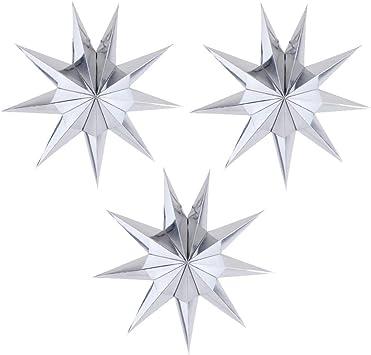 Amazon.com: EOPER 3 piezas 9 faroles de papel con forma de ...