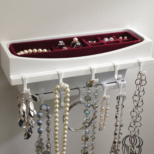 Neatnix Jewelry Rax Wall Mounted Organizer American Innotek Inc RJR-RT4-1