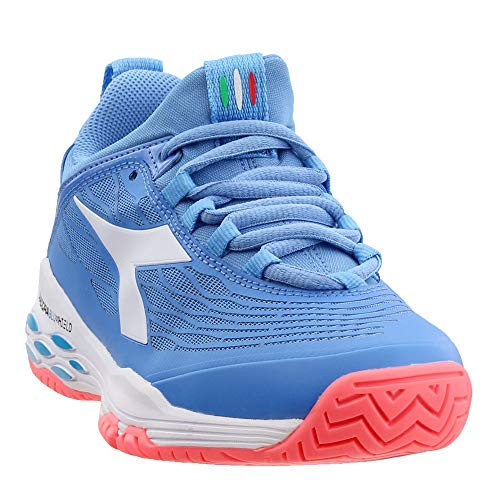 Diadora Womens Speed Blushield Fly Ag Other Sport Athletic Shoes, Blue, 7.5