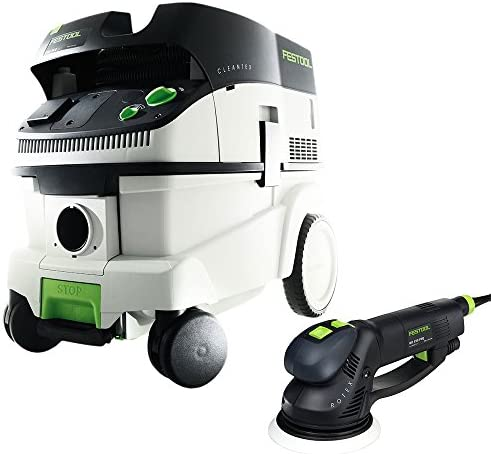 Festool P26571810 RO 150 FEQ Rotex Sander CT 26 Dust Extractor Package