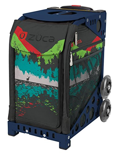 Zuca Into the Woods Sport Insert Bag and Navy Blue Frame with Flashing Wheels by ZUCA (Image #7)'
