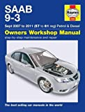 img - for Saab 9-3 Petrol & Diesel Service and Repair Manual: 07-11 (Haynes Service and Repair Manuals) book / textbook / text book