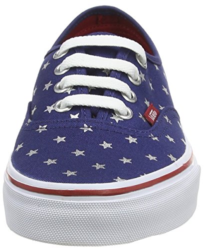 VansU AUTHENTIC STUDDED STARS - Zapatillas Unisex adulto multicolor - Mehrfarbig ((Studded Stars) red/blue)