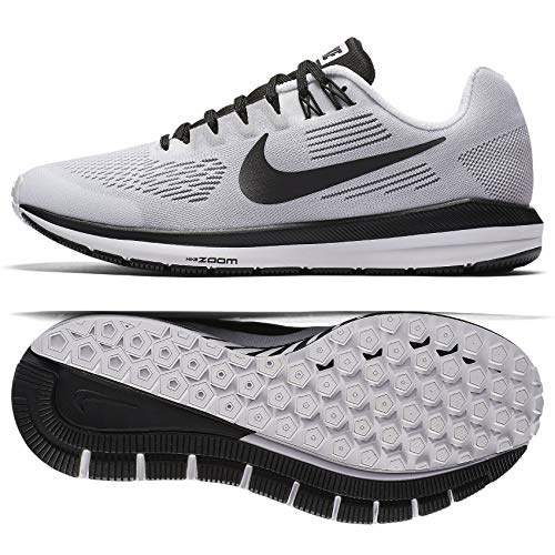 (Nike WMNS Air Zoom Structure 21 Limited Edition AA3766-100 White Women's Running Shoes (7))