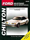 Chilton Total Car Care Ford Mustang 1979-1993 & Mercury Capri 1979-1986 Repair Manual (Chilton's Total Car Care Repair Manuals)