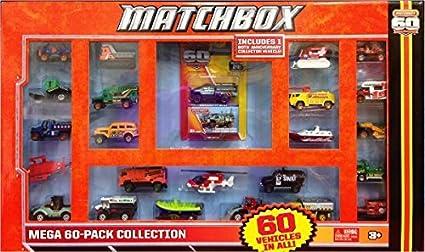 Matchbox Mega 60 Pack Die-Cast Collection by Matchbox: Amazon.es: Juguetes y juegos