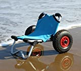 Norestar Aluminum Collapsible Kayak/SUP/Surfboard Boat Carrier, Beach Cart Wheels
