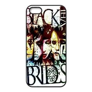 FOR Apple Iphone 5 5S Cases -(DXJ PHONE CASE)-Black Veil Brides Music Band - Love Music-PATTERN 13