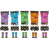EMPACT Bars - Everything Variety 10 Pack, Non-GMO, Gluten Free, Nothing Artificial (2 Peanut Butter Party, 2 Chocolate Date Night, 2 Chocolate Cherry Bling, 2 Coconut Crave and 2 Maple-Licious)