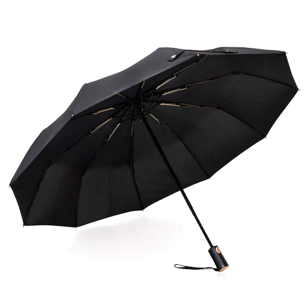 TapJoy Windproof All-Weather Travel Compact Umbrella Auto
