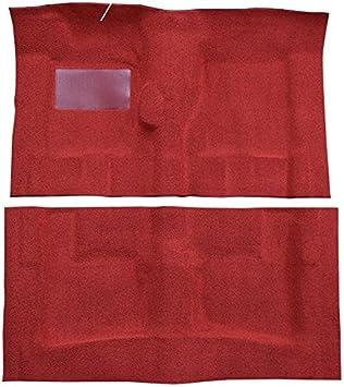 ACC Brand Carpet Compatible with 1966 to 1970 Pontiac Executive 4 Door 501-Black 80//20 Loop