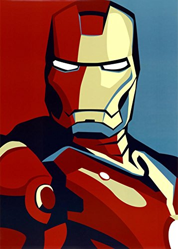 Iron Man 2 Movie  Art Poster Print 24 x 36in with Poster Han