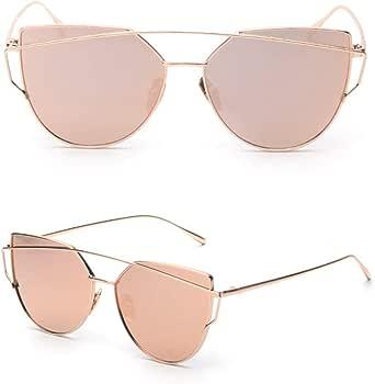 نظارة شمسية بتصميم افياتور من ريترو للنساء [ETH]