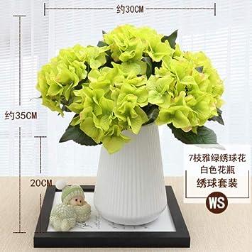 Mobdy Arreglo Floral De Flores Artificiales Con Arreglos