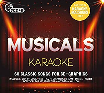 73abedef024 Various Artists - Musicals Karaoke - Amazon.com Music