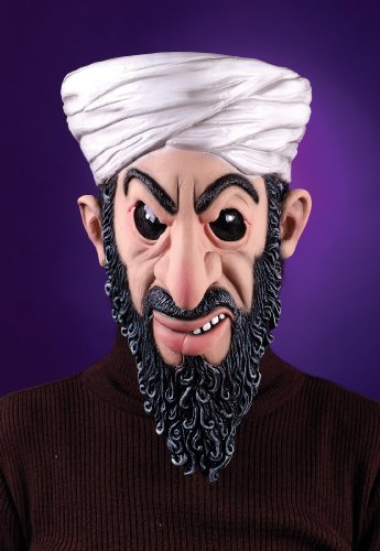 Lets Party By Osama Bin Laden Mask Adult]()