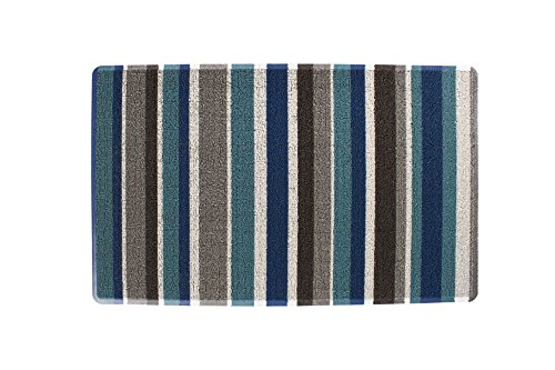 Ritz Tufted Door Mat with No-Slip Backing, 18