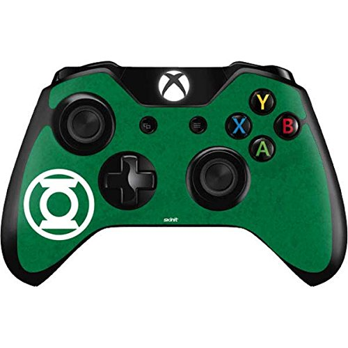 Skinit Green Lantern Logo Green Xbox One Controller Skin - Officially Licensed Warner Bros Gaming Decal - Ultra Thin, Lightweight Vinyl Decal Protection (Green Lantern Video Game Xbox)