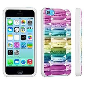 DuroCase ? Apple iPhone 5c Hard Case White - (Sweet Macaroons)