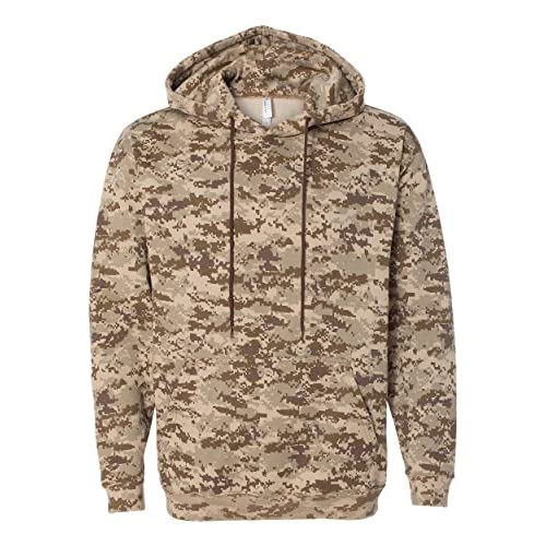 Cheap Code V Adult Camouflage Pullover Hooded Sweatshirt, Urban Woodland, XX-Large
