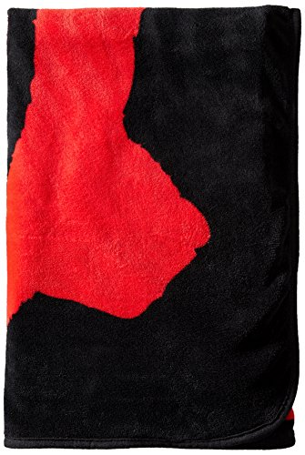 Bioworld Men's Gears Of War Logo Throw Blanket, black, One Size by Bioworld