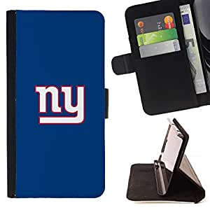 KingStore / Leather Etui en cuir / Sony Xperia Z3 D6603 / Equipo NY