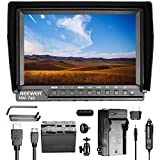 Neewer NW-760 7 inches HD Camera Monitor Kit with 1920x1200 IPS Screen Field Monitor 6600mAh Replacement Li-ion Battery and Charger, for Sony Canon Nikon Olympus Pentax Panasonic DSLR Cameras