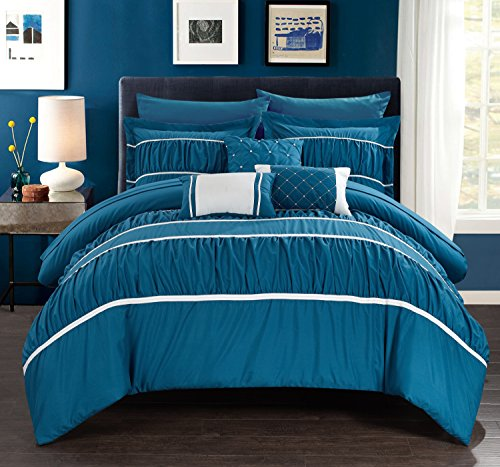 Chic Home Cheryl 10 Piece Comforter Set Complete Bed in a Ba
