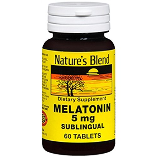 Mélatonine 5 mg 60 Tabs par Blend Nature
