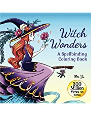 Witch Wonders: A Spellbinding Coloring Book: Relaxing Fantasy Coloring Book for Teens & Young Adults with Beautiful Coloring Pages of Glamorous Witches, Haunting Scenes, & Magical Animals for Fun, Creativity, & Stress Relief