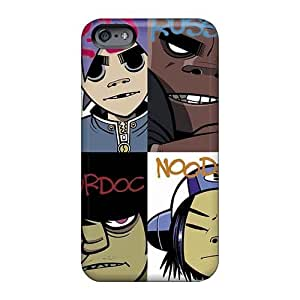 KevinCormack Iphone 6plus Shock Absorption Hard Cell-phone Cases Customized Nice Gorillaz Band Series [qks3403LPTN]