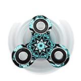 Vovomay New Hand Spinner Fidget EDC Finger Spinner Toy For Helps Focus, Stress, Anxiety Adult Children (Color Q)