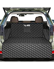 Pets Cargo Liner SUV Dog Cargo Cover, Waterproof Dog Seat Cover Mat for Back Seat Trucks/SUV with Bumper Flap Protector, Nonslip Dog Seat Cover 185 * 105cm
