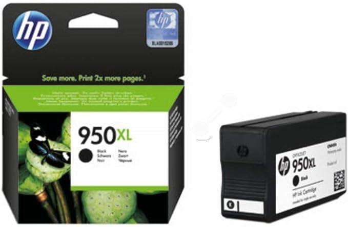 Hp Original Tinte Passend Officejet Pro 8616 E All In One 950 950xl 950xlbk 950xlblack No950xl No950xlbk No950xlblack Cn045ae Premium Drucker Patrone Schwarz 2300 Seiten 53 Ml Bürobedarf Schreibwaren